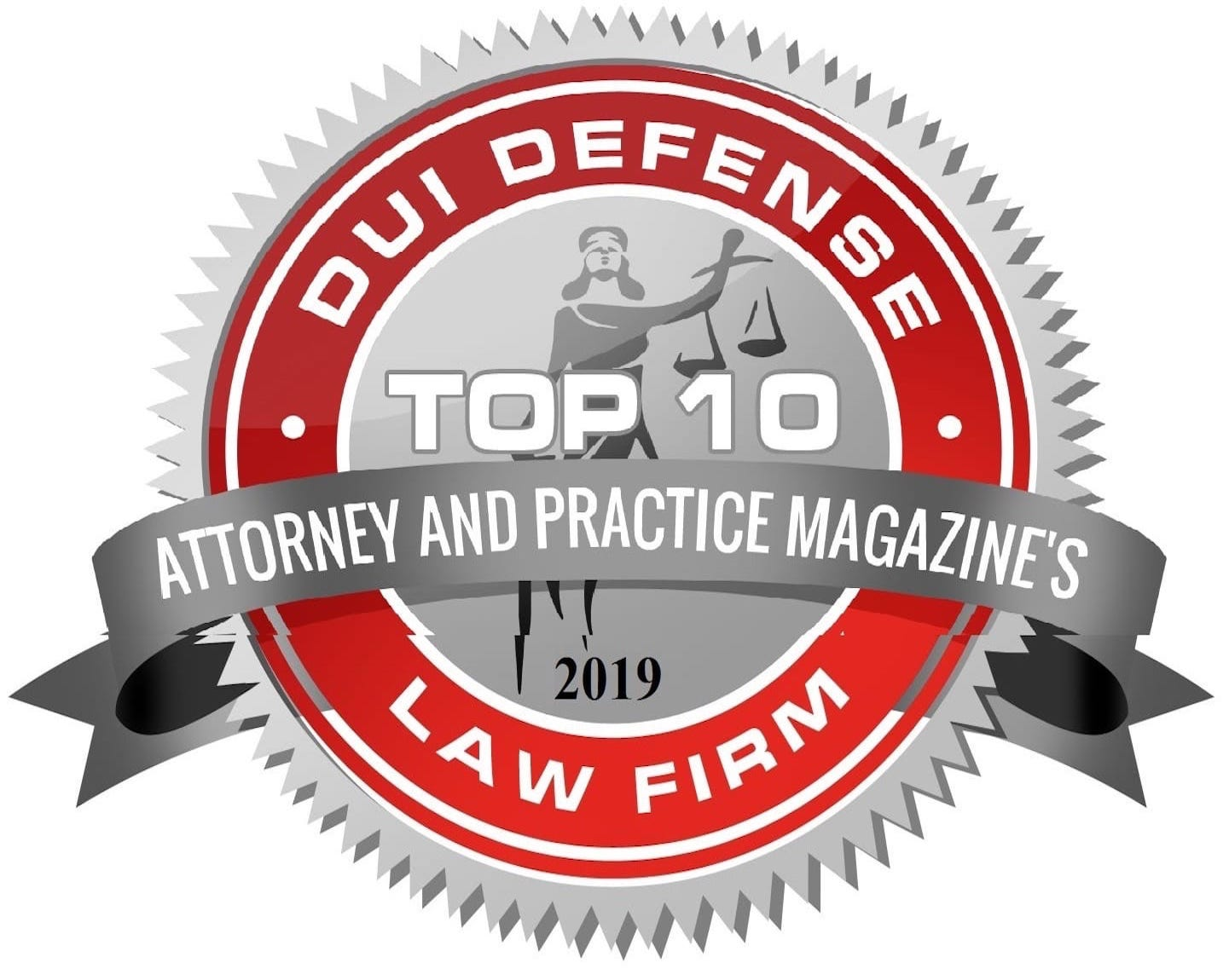 DUI 2019 Defense Law Firm Logo Top 10